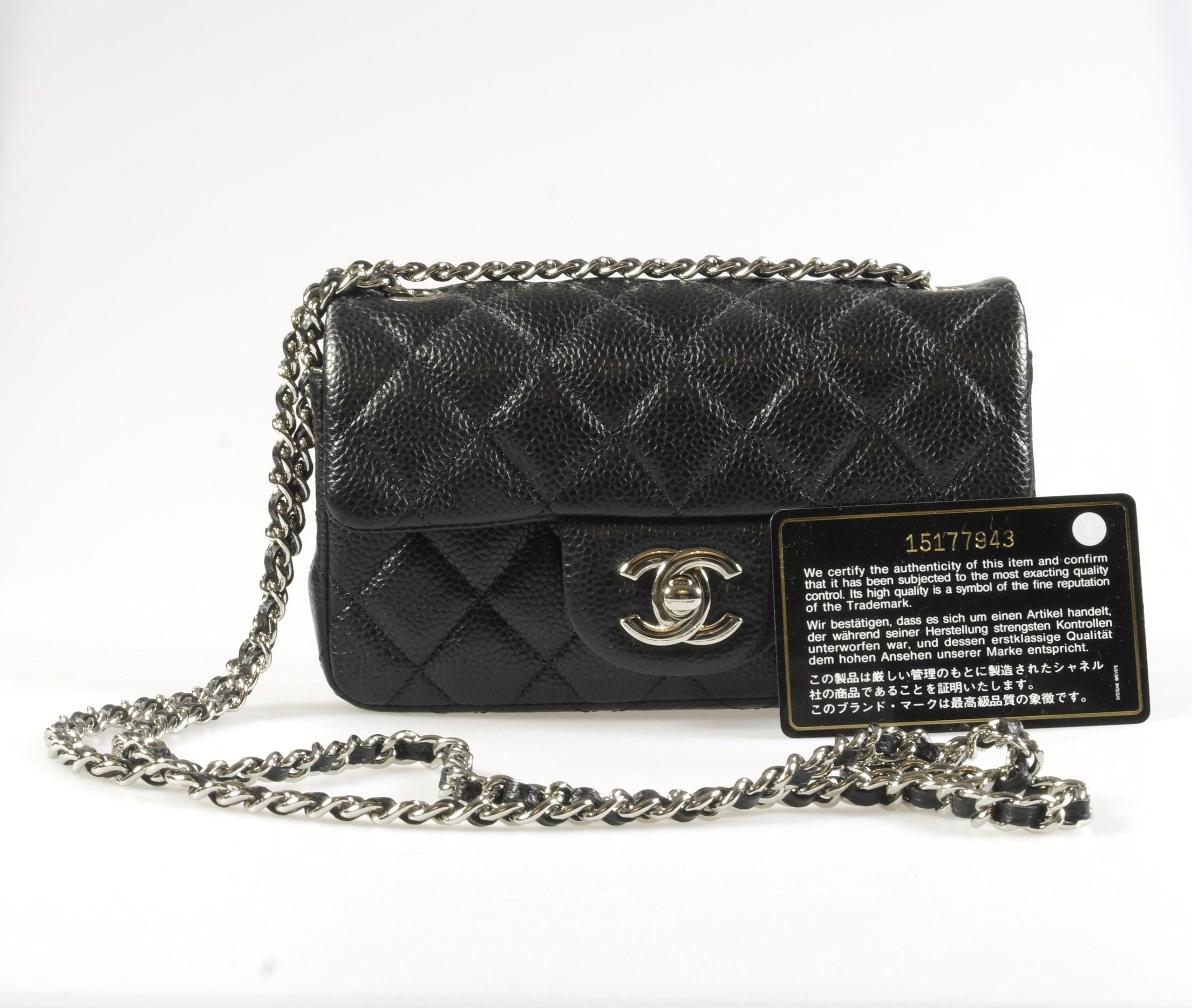 c1f6ab839956b1 Chanel Classic mini rectangular flap bag SOLD | Expensive Bag Dream ...