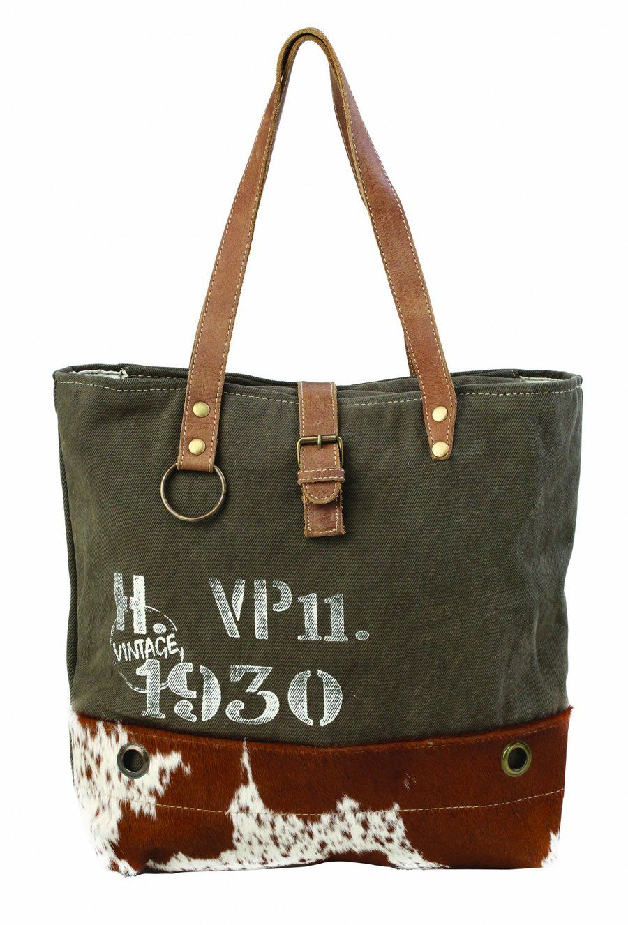 77233e3dfdd5 Canvas & Hair on Hide Tote #1193 in 2019 | It's a Western Thing ...