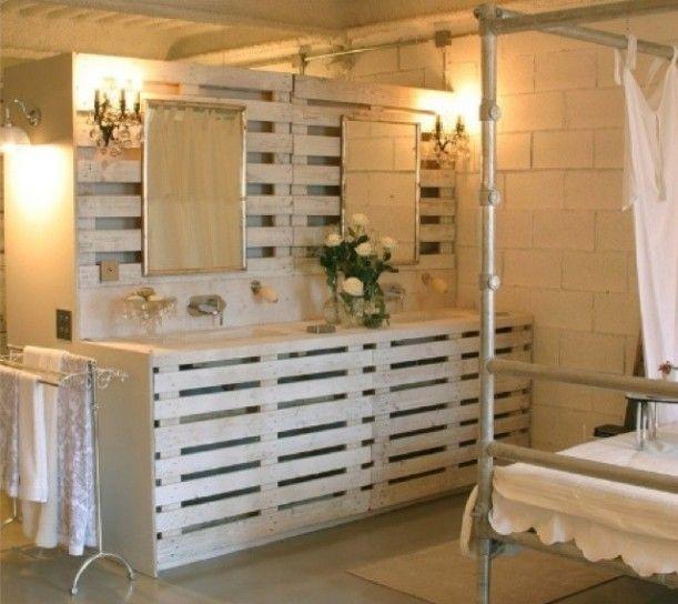 idee arredamento bagno fai da te - cerca con google | progetto ... - Idee Arredamento Pallet