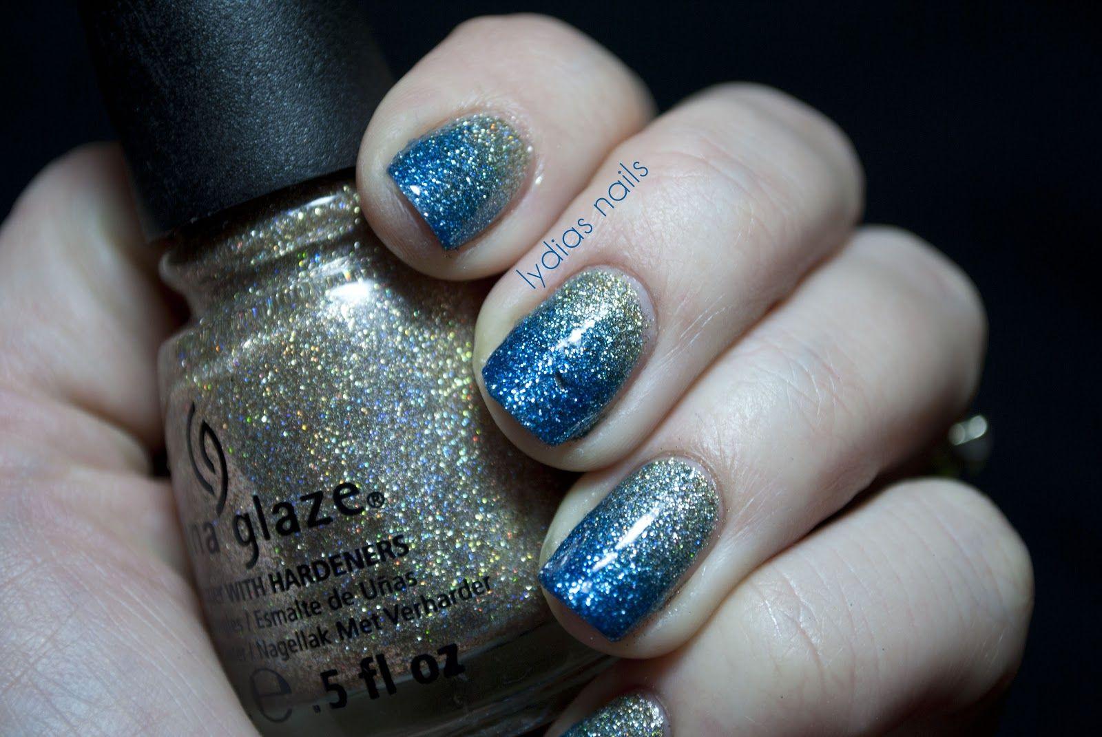 Lydia's Nails: China Glaze Glitter Gradient