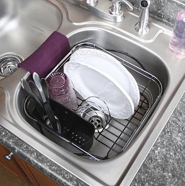 Superior In Sink Dish Drainer Racks | Best Dish Rack For Modern Sinks