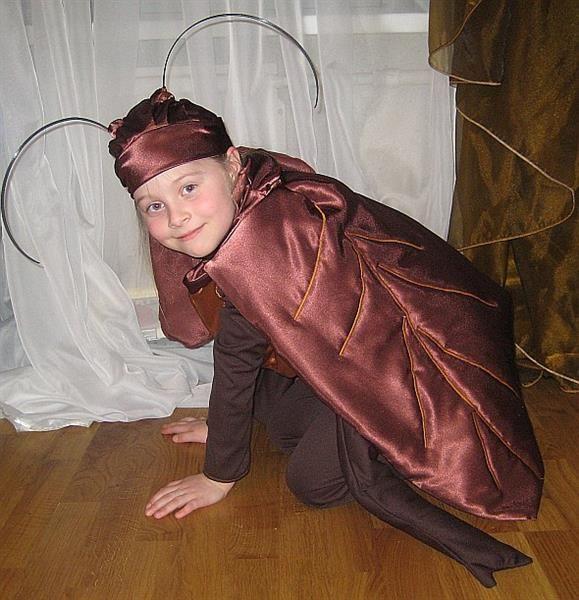 Костюм таракана на сказку тараканище для мальчика своими руками фото