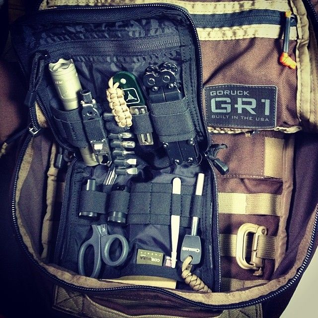Goruck Gr1 Amp Tad Op1 Gear