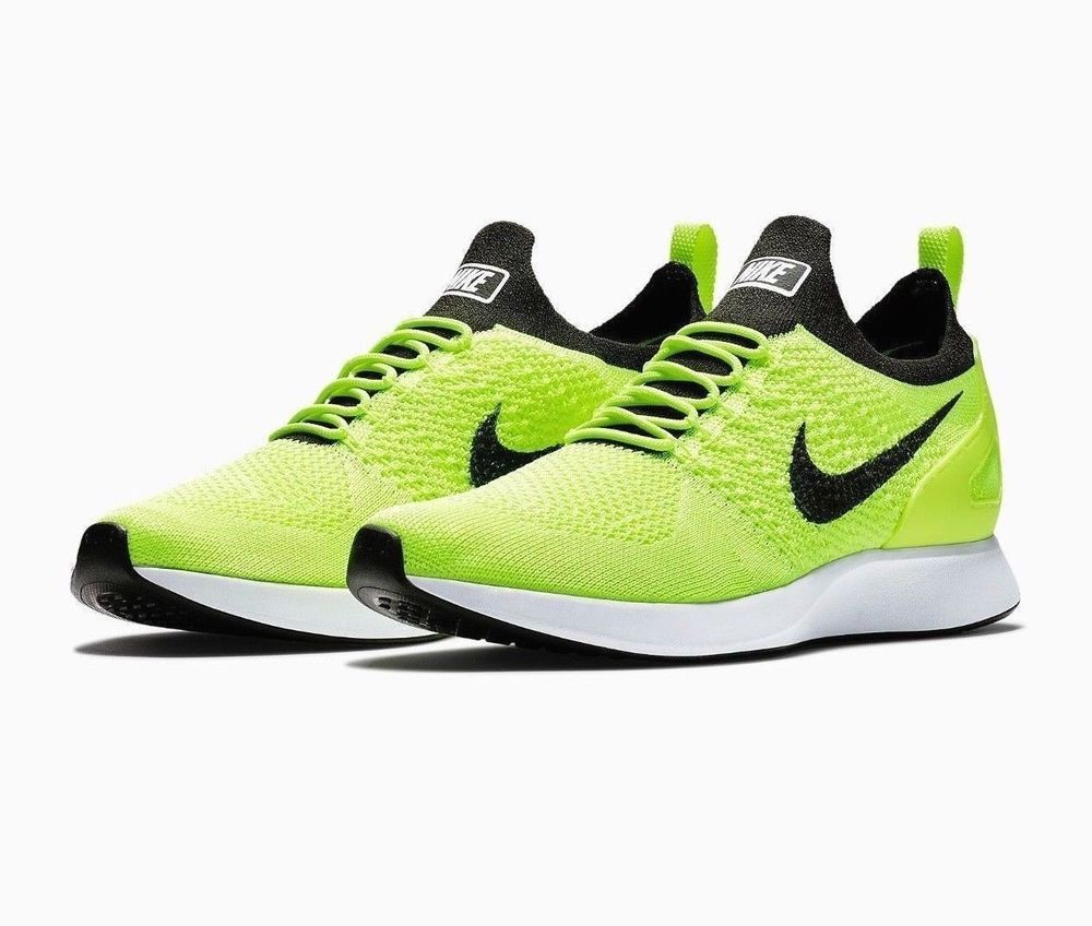 8fd470324607 Nike Air Zoom Mariah Flyknit Racer Mens Running Shoes 10.5 Volt Sequoia  White  Nike  RunningShoes