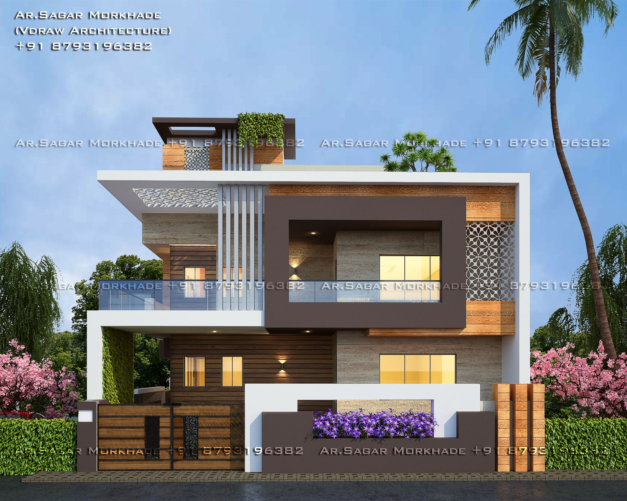 #Modern #Residential #House #bungalow #Exterior By, Ar ...