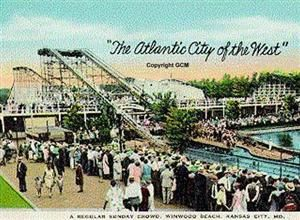 6 16 1923 Fairyland Amusement Park Opens At 75th St And Prospect Traffic Was A Tangle