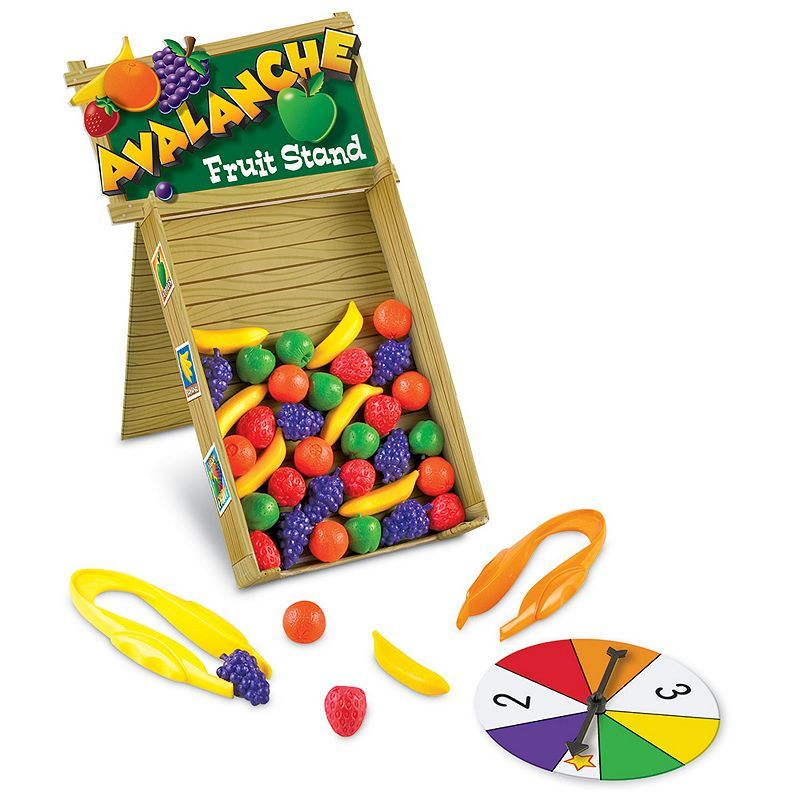 Avalanche Fruit Stand Game by Learning Resources