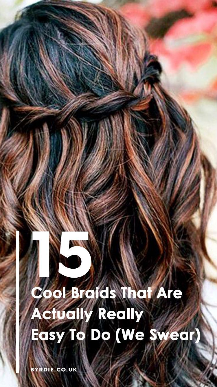 cool braids that are really easy to do for any hair type