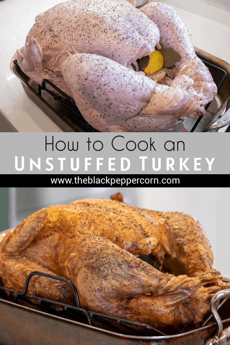 How to Cook a Turkey in an Oven - The Black Peppercorn