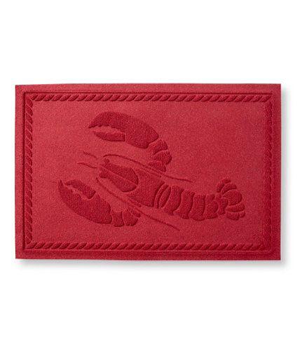 Novelty Waterhog Doormat, Lobster: Waterhog Doormats | Free Shipping At  L.L.Bean