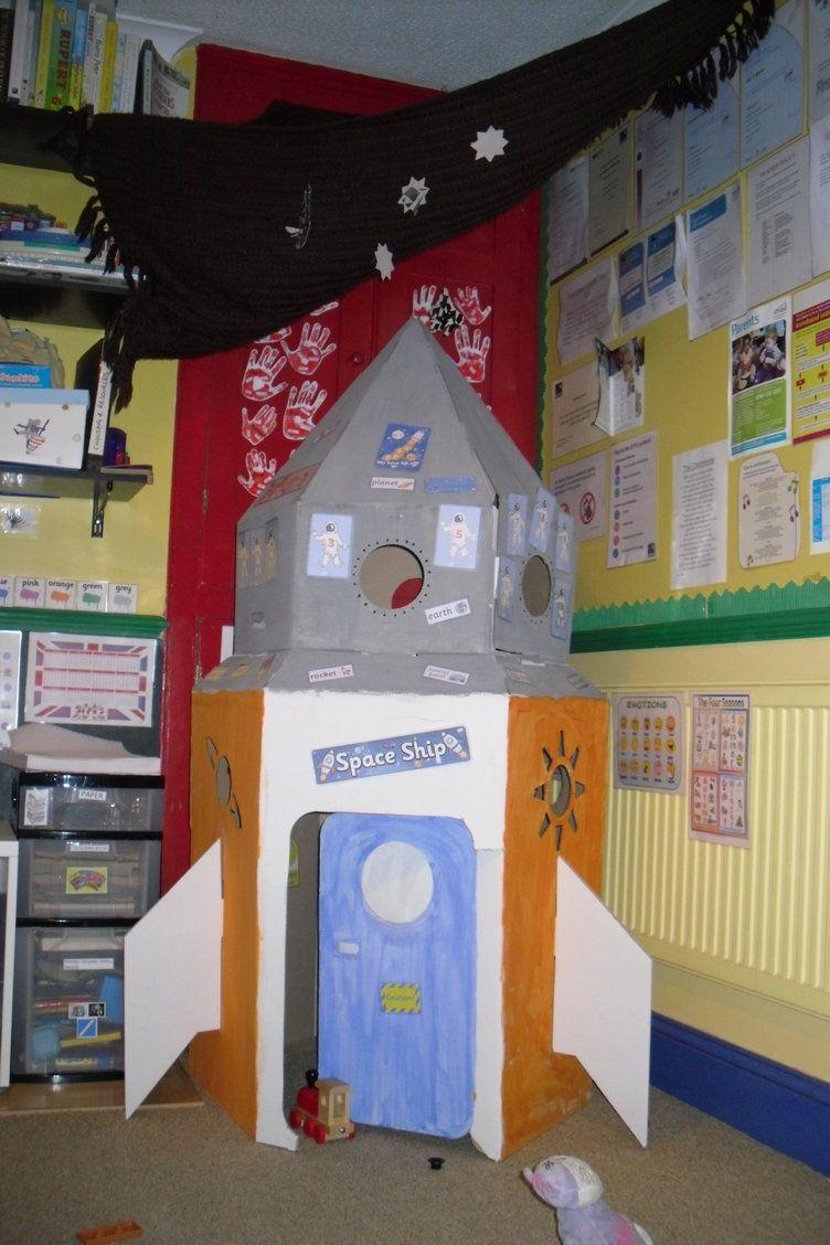 Classroom Ideas Ks1 : Space rocket display classroom class