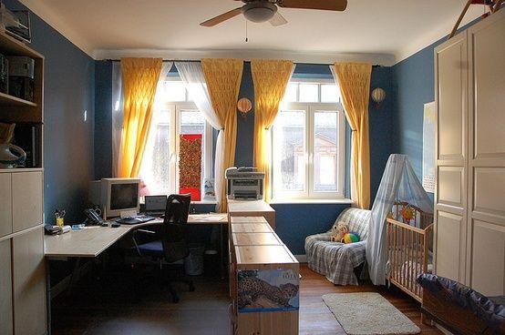 i love the smocked curtains and the shelf barrier ideas for nursery rh pinterest com