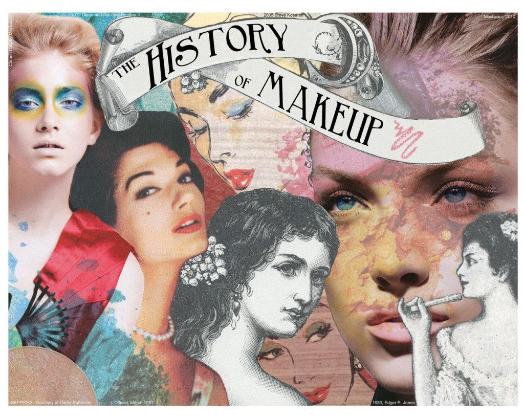 The Evolution Of Makeup Throughout The Decades Artistry Makeup Makeup History