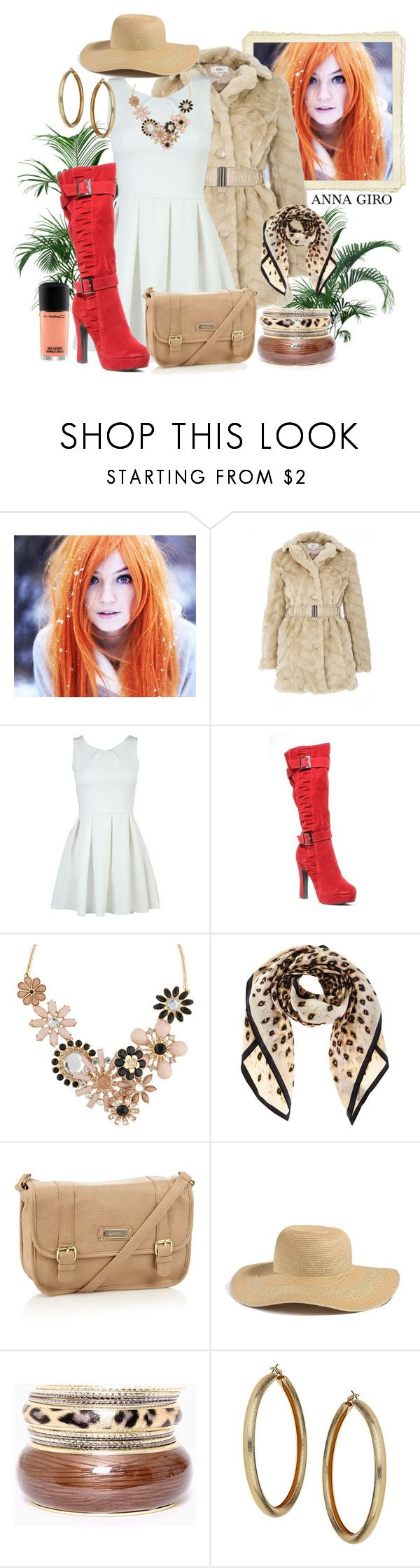"""""""Cheap & Chic Fall Look"""" by annagiro ❤ liked on Polyvore featuring Quiz, ALDO, Oasis, kangol, GUESS and Topshop"""
