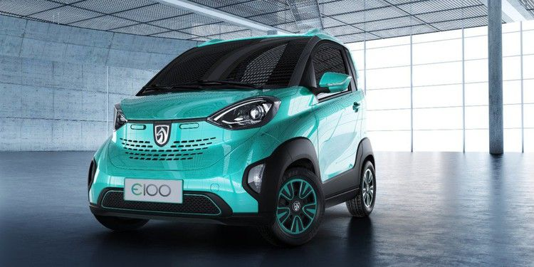 This Small Electric Car Made By Gm S Chinese Joint Venture Can