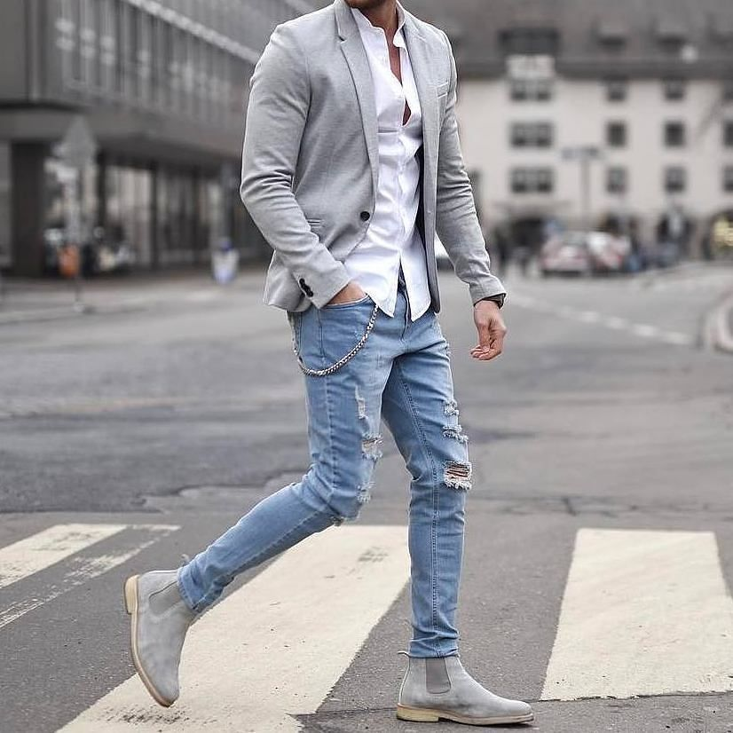 c1a784124c86 Nice 40 Stylish Casual Summer Outfits Ideas for Mens. More at https