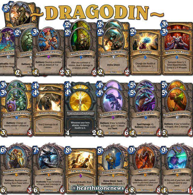 hearthstone Dragon Paladin | hearthstone | Hearthstone mage