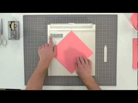 Making Envelopes with the Scoring Board by Martha Stewart Crafts
