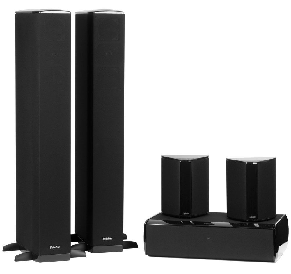 Definitive Technology BP-8020ST - CS-8040HD 5-Piece Home Theater Speaker System