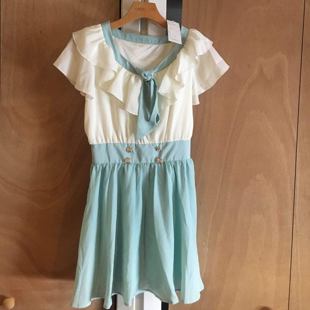 Mary Rose Mint Dress From Japan
