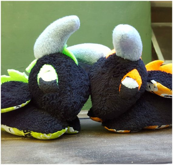 Check out this item in my Etsy shop https://www.etsy.com/listing/473624408/halloween-dragon-plush-multiple-patterns