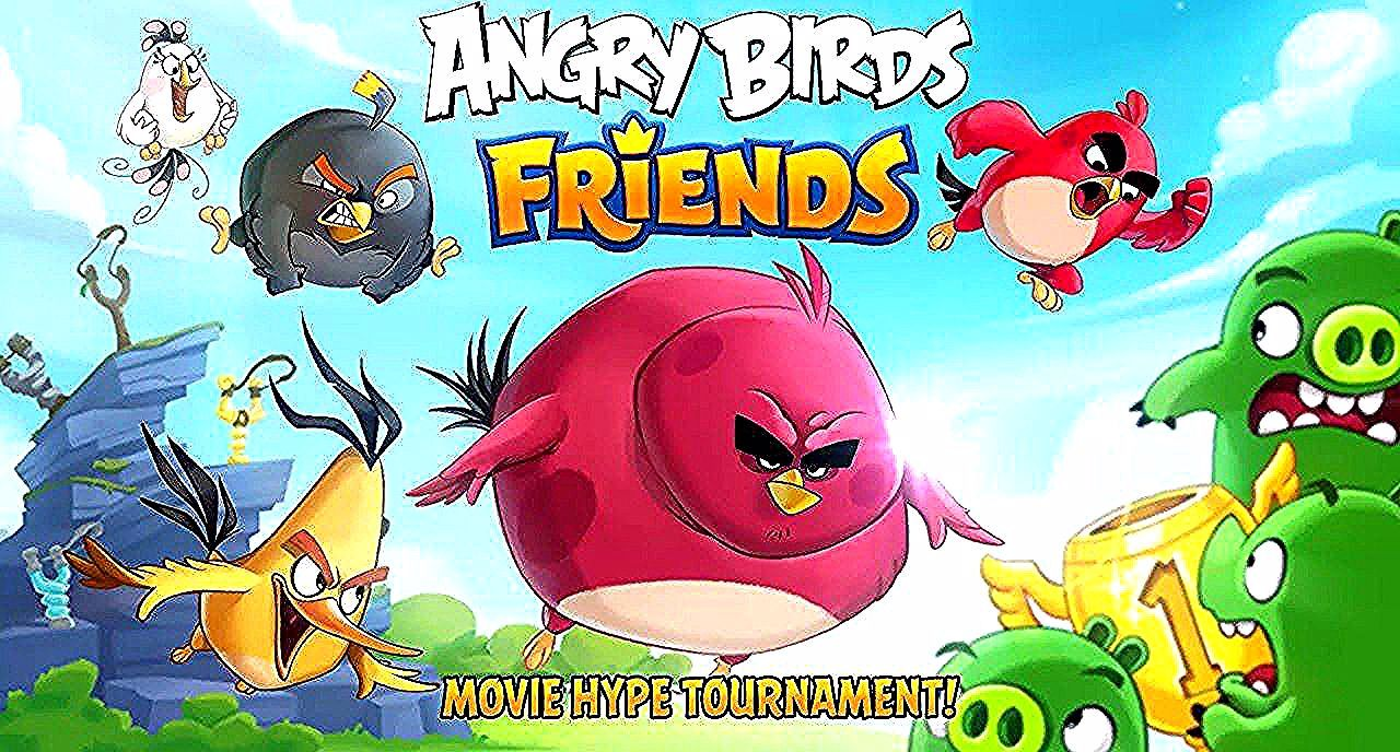 Download Angry Birds Friends Mod Apk Latest Version Free For
