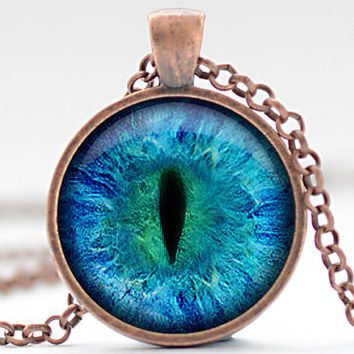 Cij sale animal eye necklace third eye jewelry evil eye charm cij sale animal eye necklace third eye jewelry evil eye charm eyeball pendant aloadofball Choice Image