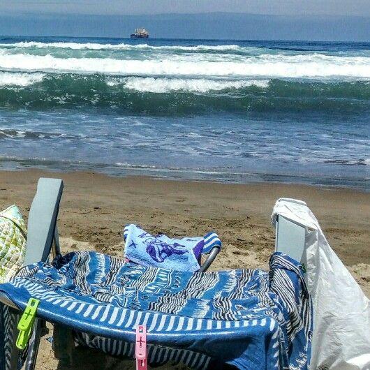 Silla sola playa de Salinas