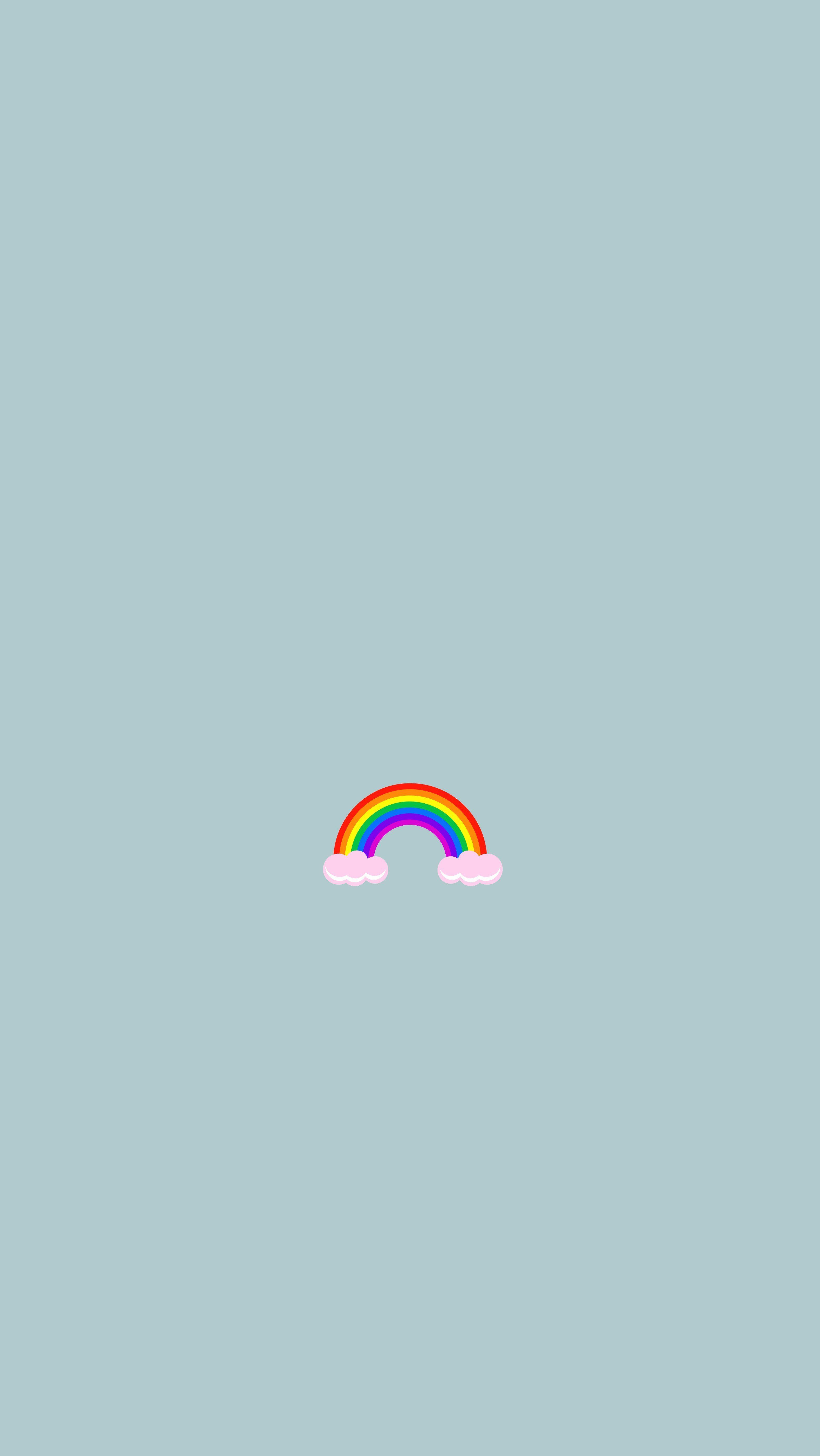 Tumblr Rainbow Wallpaper Aesthetic