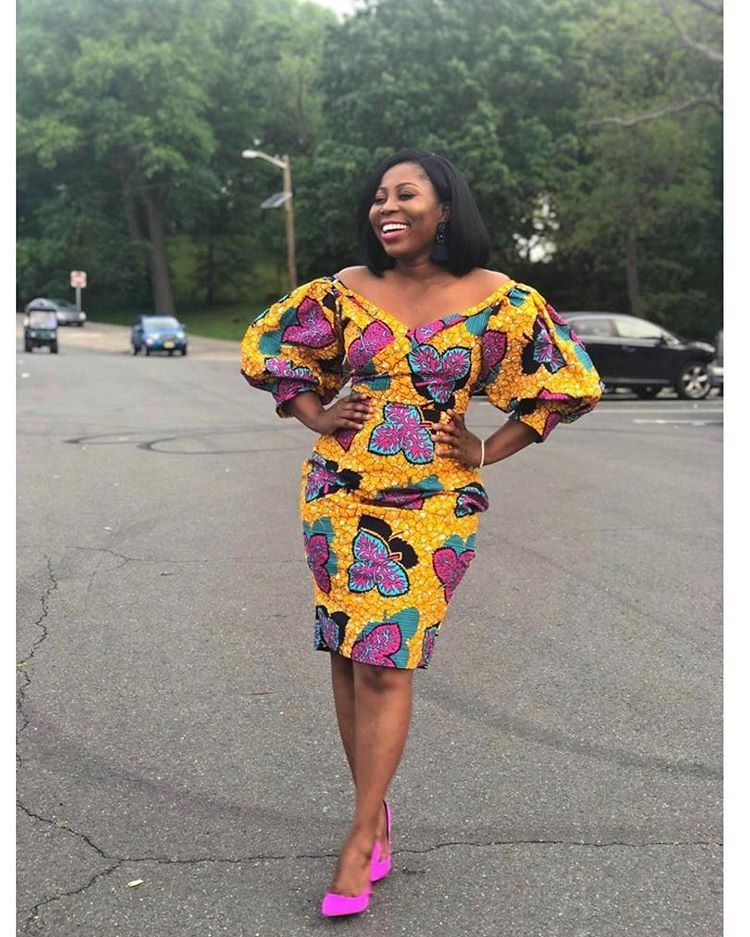 20 Pictures Of Simple Ankara Styles In 2020