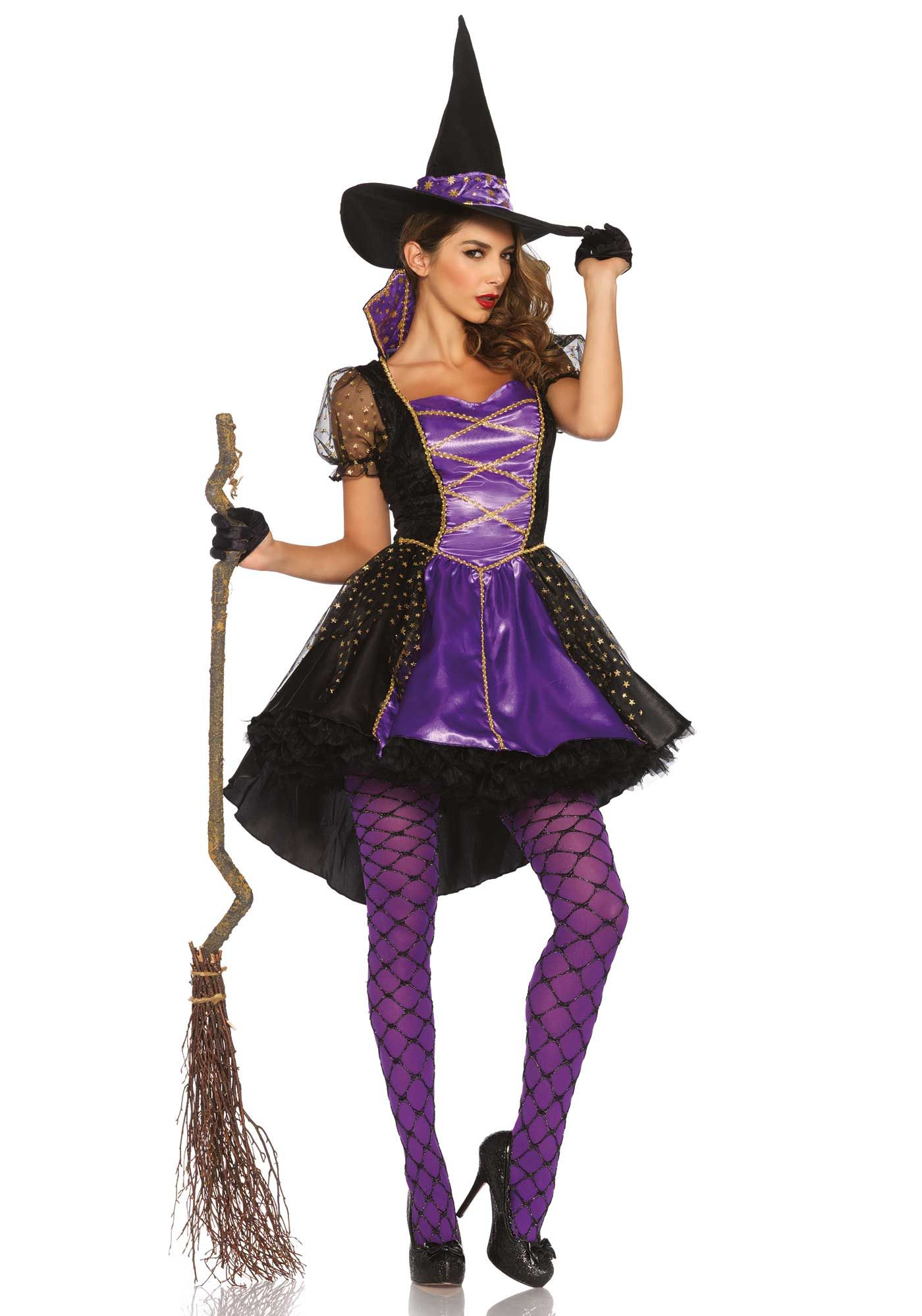 Halloween Kleding Dames.Paars Heksen Kostuum Voor Dames Halloween Halloween