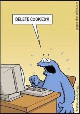 Nice upgrade from the trash can cookie monster
