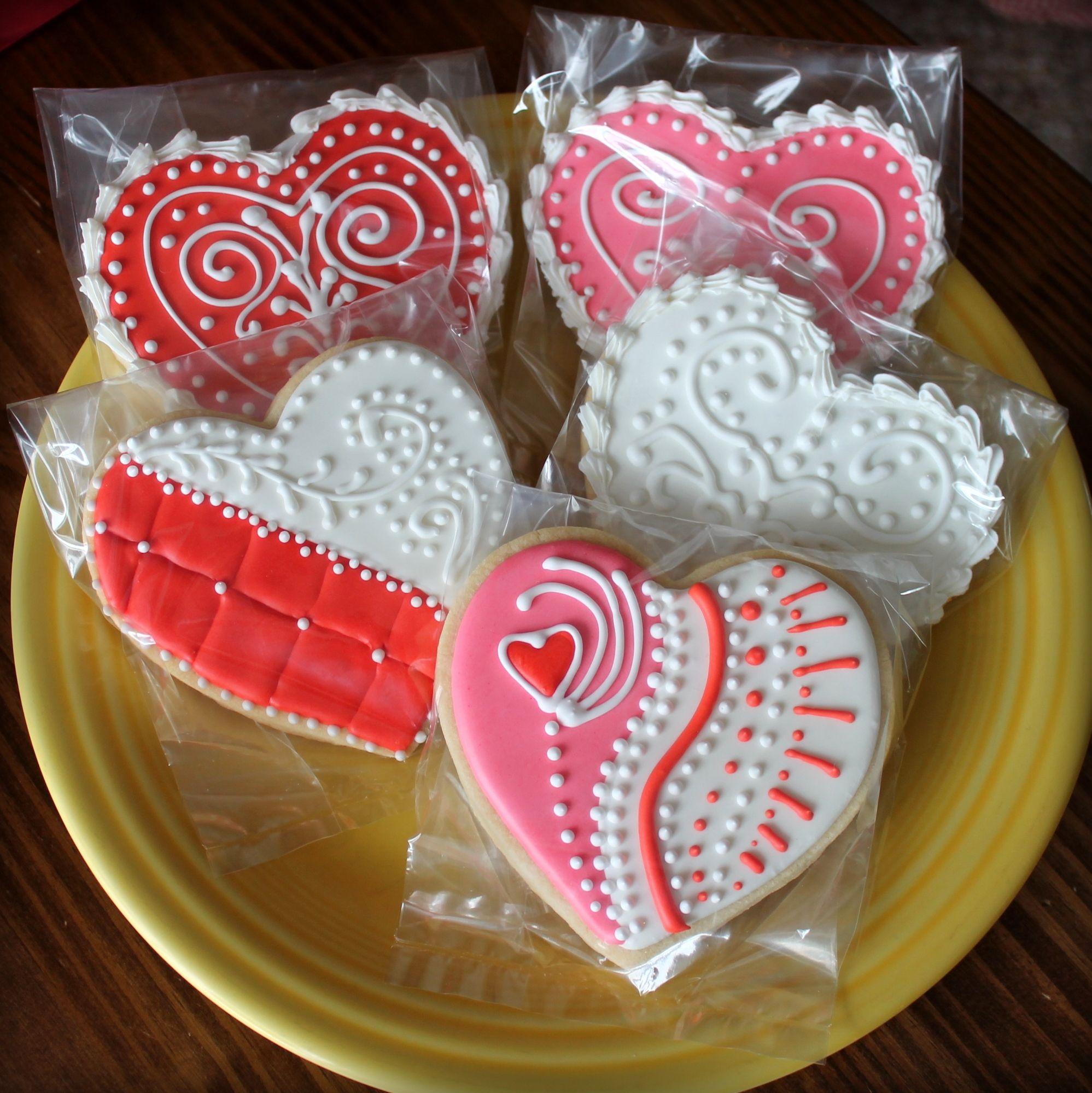 Valentine S Day Sugar Cookies Cookies Pinterest Sugar Cookies