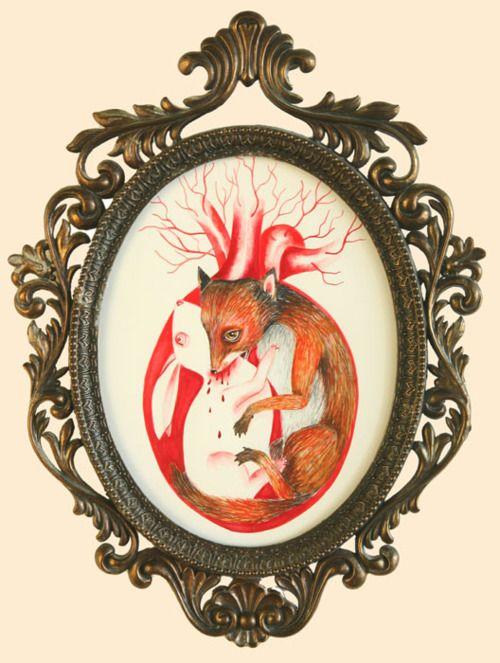 """the heart - """"Lovers"""" & """"Lovers II"""" by JennyBird Alcantara"""