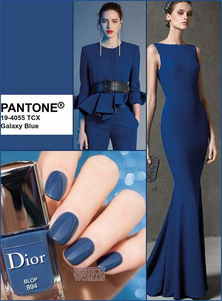 Rapporto colori Autunno-Inverno 2019-2020: Galaxy Blue Fashionable Colors Panton Autunno …