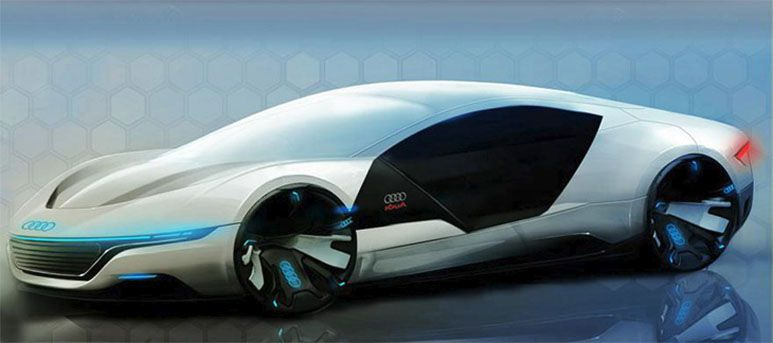 Audi A9 Concept Car Repairs Itself And Changes Color  Cars