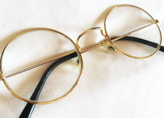 c9b88d47a4f Really Cool Vintage Round Rimmed Glasses