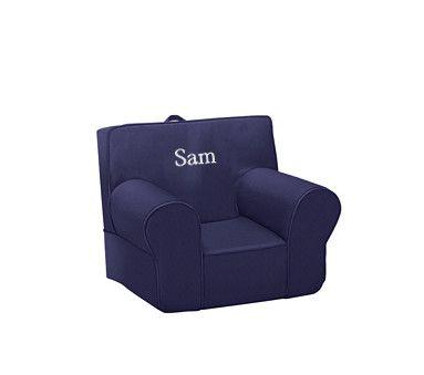 NEW Pottery Barn KIDS My First 1st Anywhere Chair Slipcover~HARPER LIGHT BLUE