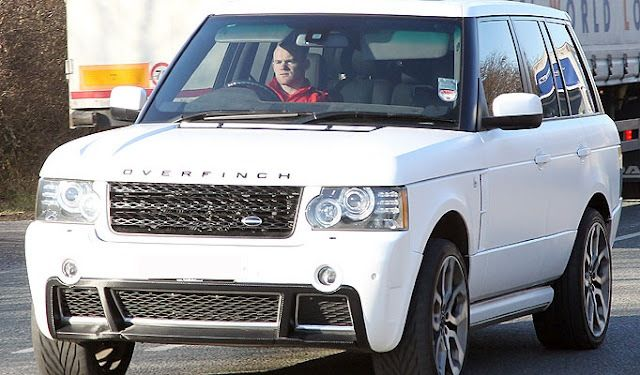 Wayne Rooney in a bling Land Rover Overfinch | Stars and their cars
