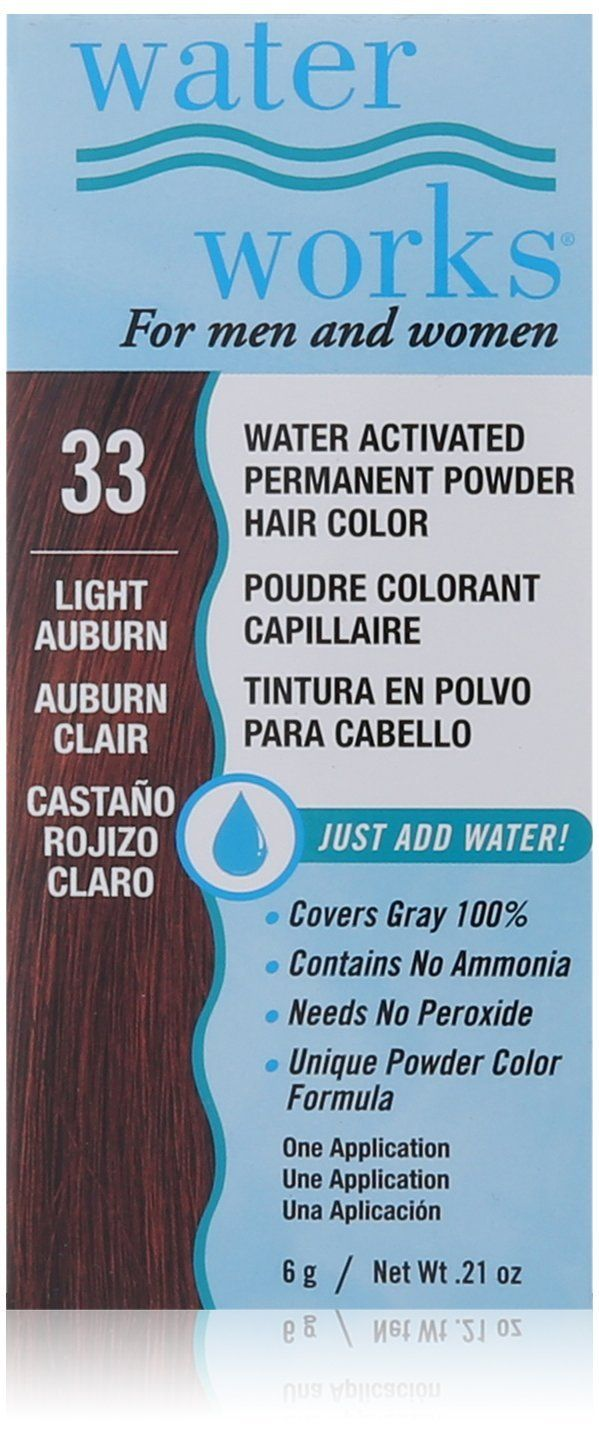 Waterworks Permanent Powder Hair Color Light Auburn  Read more