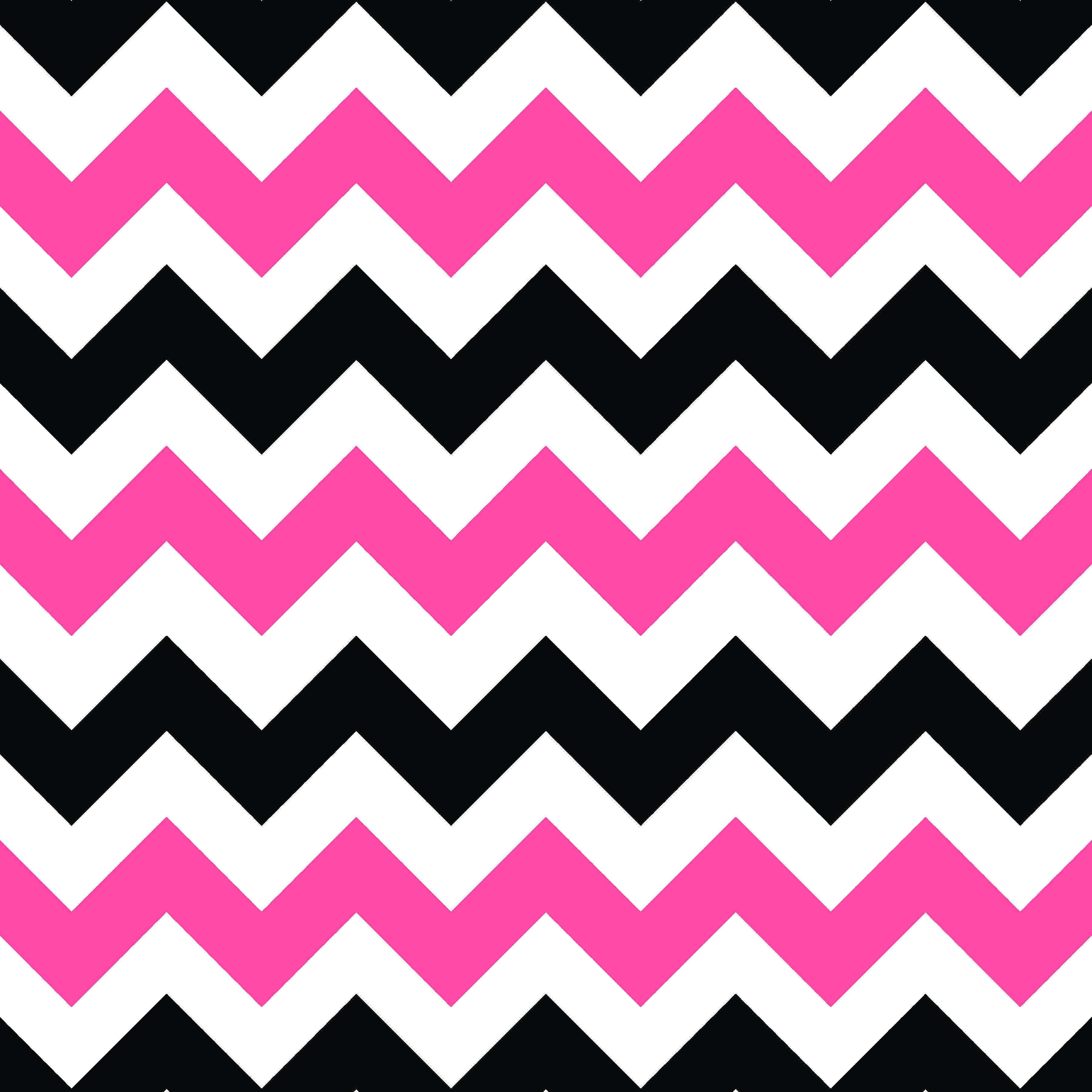 Pink Black And White Sheveron