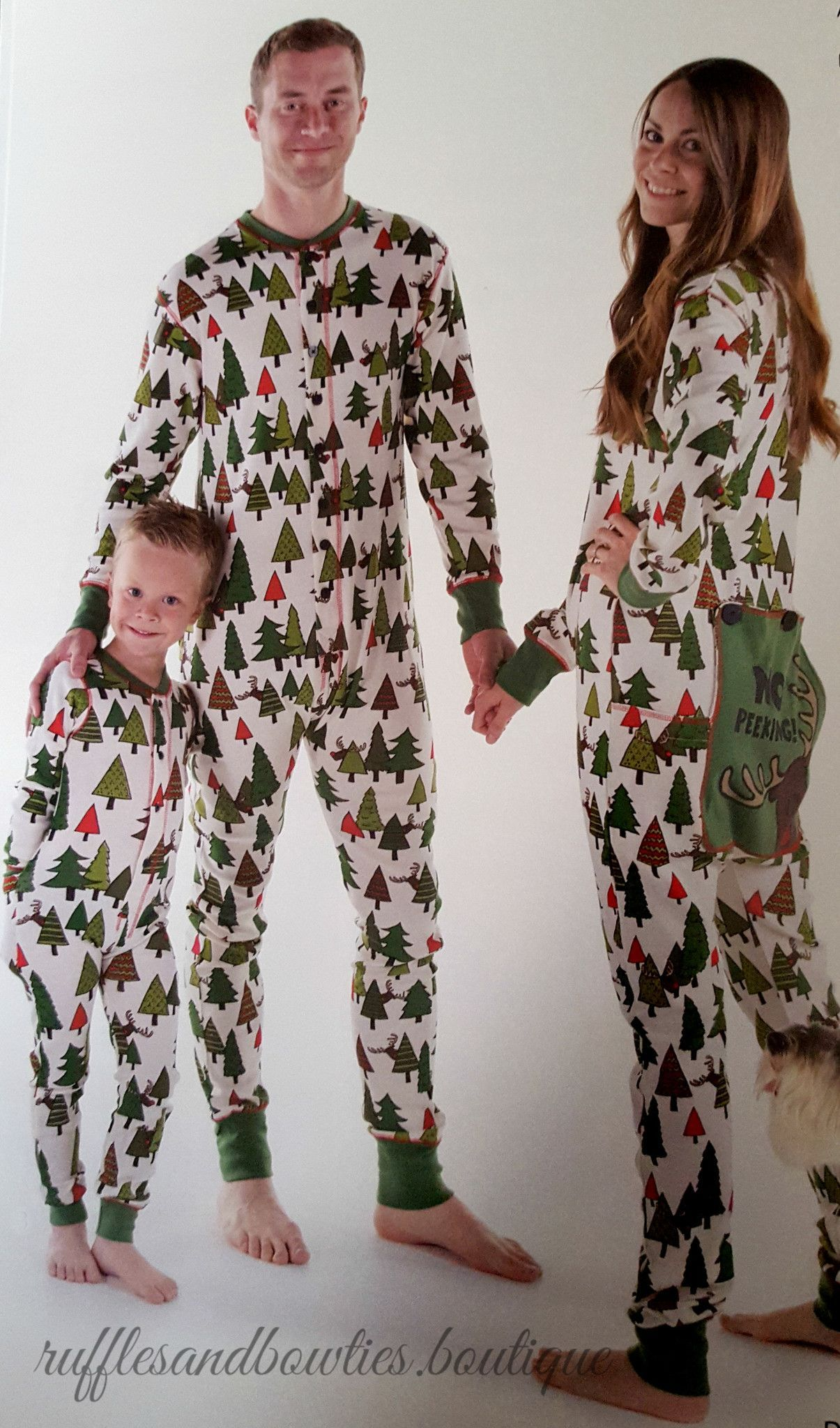 ddc0dd3091 PRE ORDER - NEW THIS SEASON - NO PEEKING - Family Matching Flapjack  Christmas Pj s