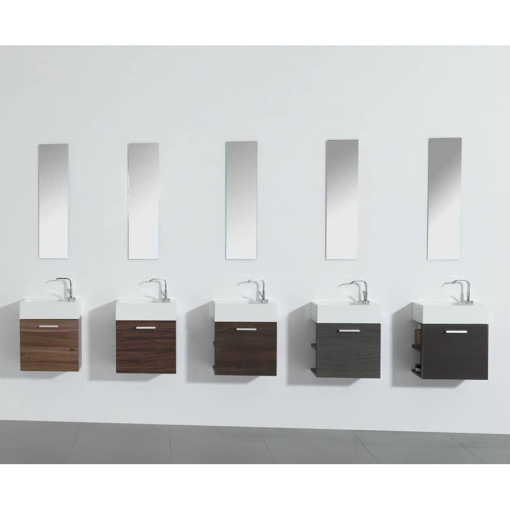 Gaste Wc Badmobel Waschbecken Mit Unterschrank Und Ablagefacher In