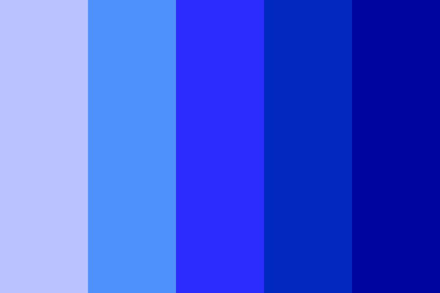 Pin by Conor Kelleher on Pensive:Logo ideas | Blue colour palette, Blue  shades colors, Color palette