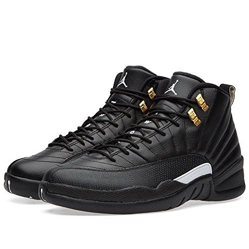 huge discount 36e8f 6afca Nike Air Jordan 12 Retro Black/White-Metallic Gold. Full ...