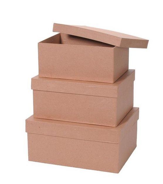 paper mache box set 3pk rectangle paper mache boxes, paper mache Wedding Card Box Joanns paper mache box set 3pk rectangle joann's wedding card box