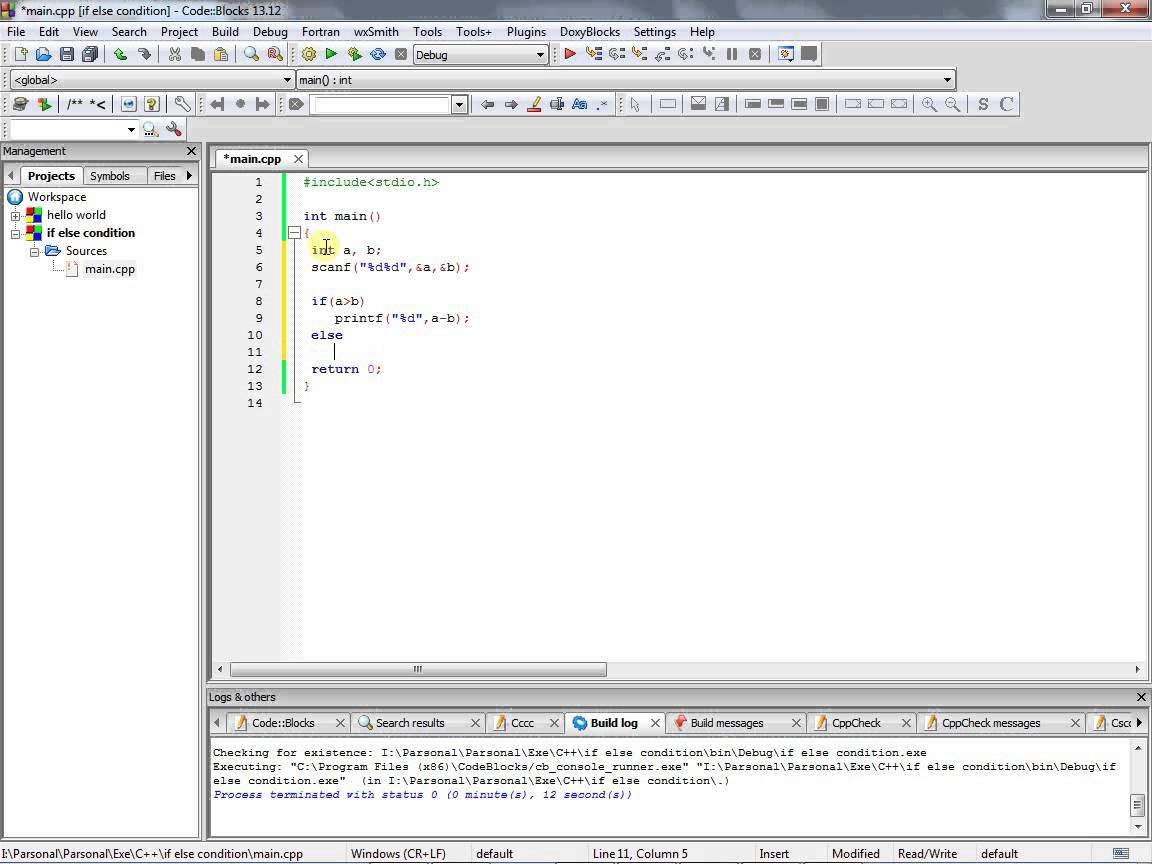 C Programming Tutorial If Else Condition 10055 Hashmat The Brave