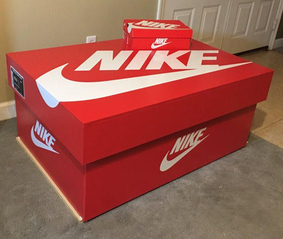 acortar zoo reembolso  Caja de almacenaje del zapato de Nike 16pair | Caja de zapatos ...