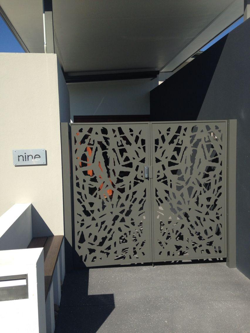 Aluminium Screen Gates Decorative Screen Design Panel