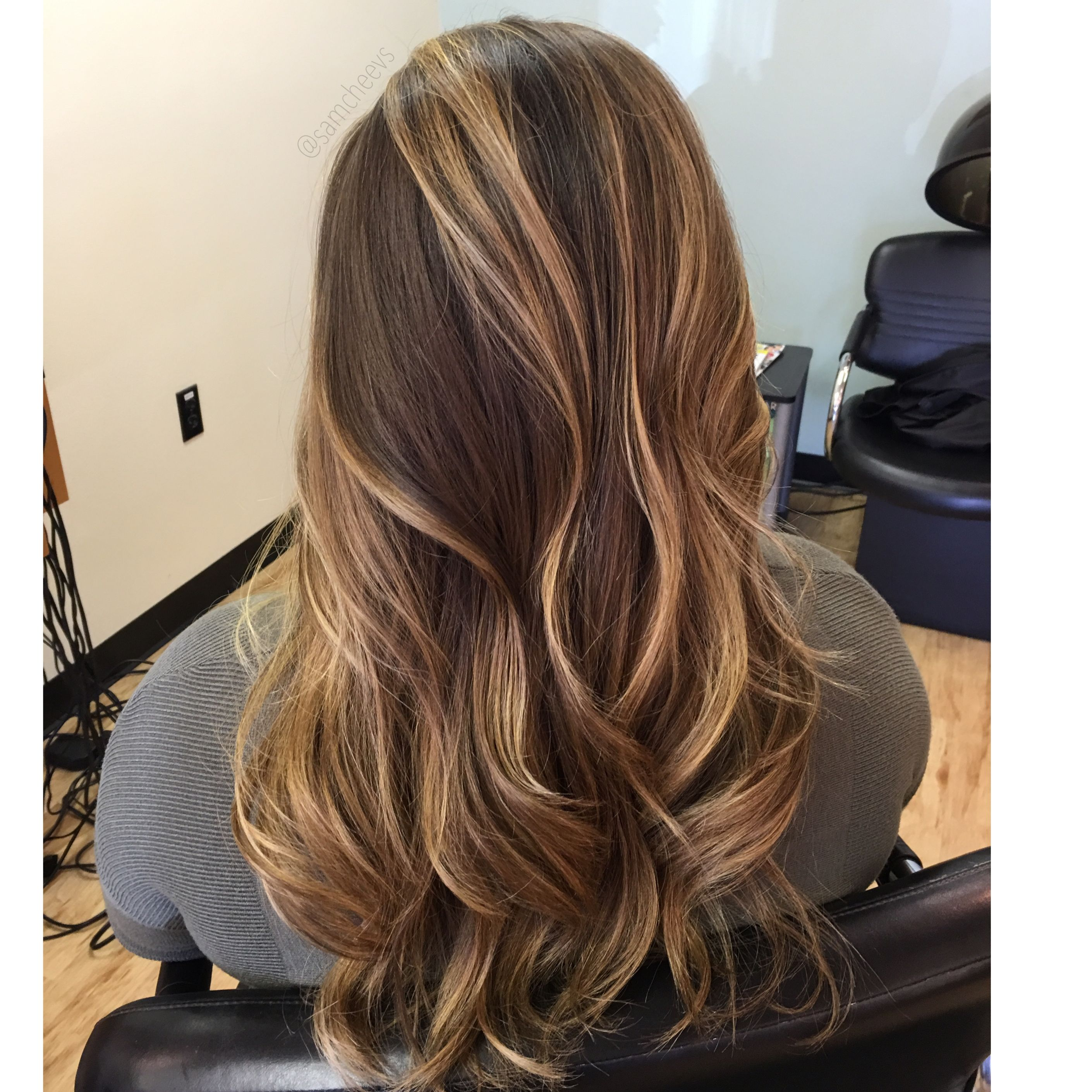 Honey Beige Highlights For Dark Hair Types Highlights